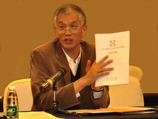 中国工程机械工业协会会长祁俊倡导行业自律