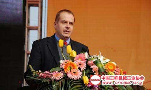 沃尔沃建筑设备(中国)有限公司总裁   林宾华(Benoit Rimaz)