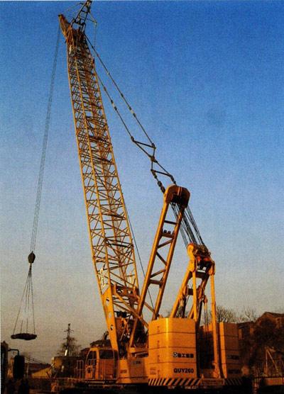 大吨位履带起重机关键技术研究及产业化