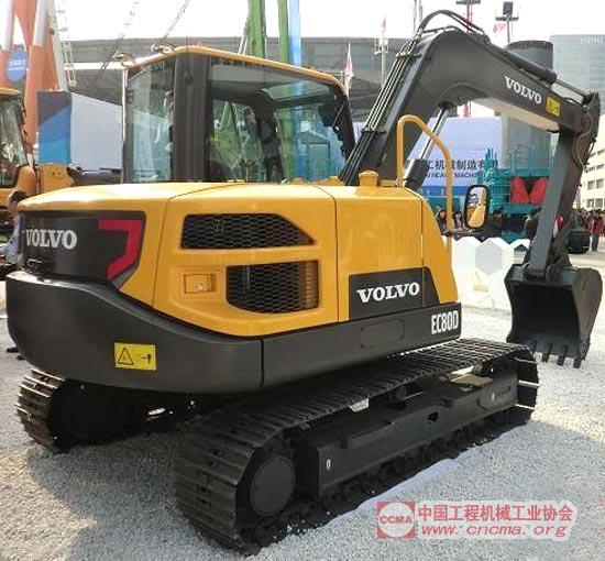 ec80d挖掘机
