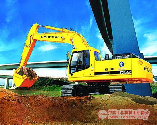 r265lc-7型液压挖掘机-现代