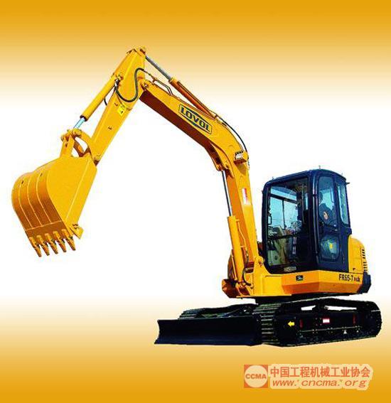fr65-7型液压挖掘机-福田雷沃