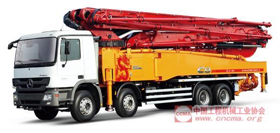 c8混凝土泵车图片