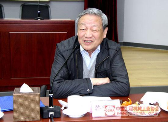 韩学松首席顾问发表讲话