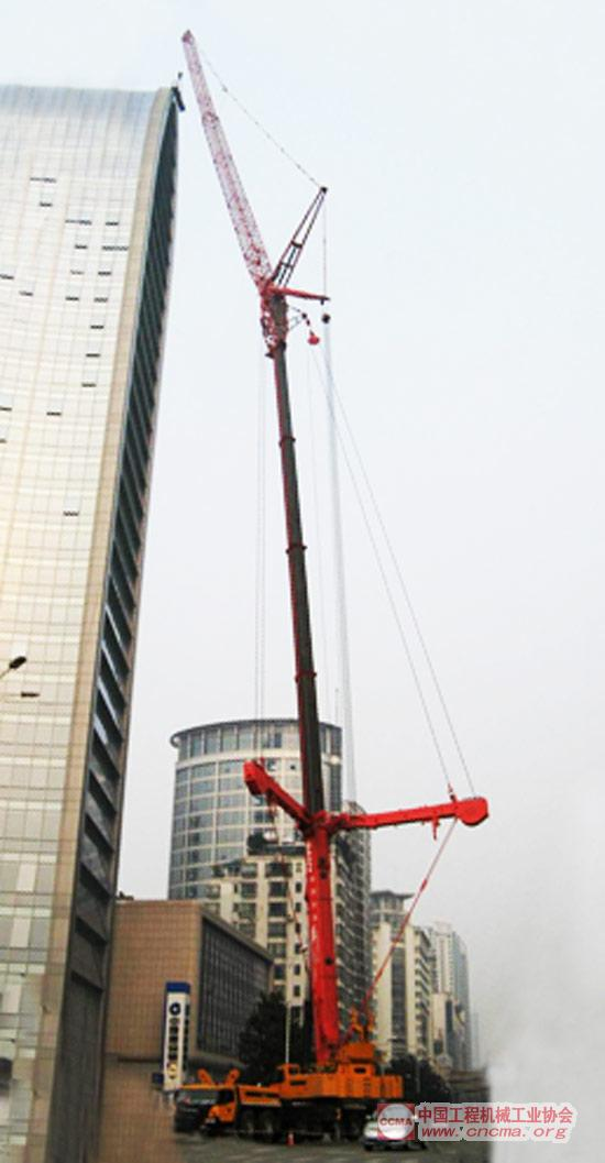 sac3500全地面起重机关键技术研究及应用