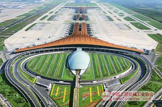 北京新机场效果图-冬奥申办成功哪些基建投资利好工程机械