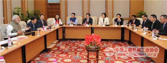 三一集团发起组织的中国能源暨基础设施工商企业考察