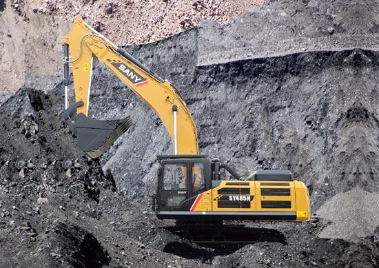 三一SY485H型履带式挖掘机图片